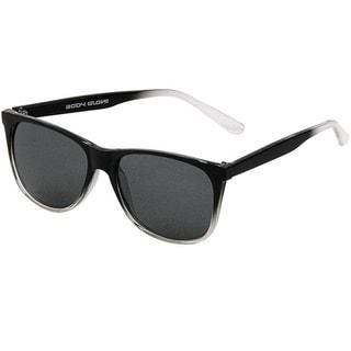 Body Glove 'Windy Hill' Men's Black to Clear Polarized Sunglasses