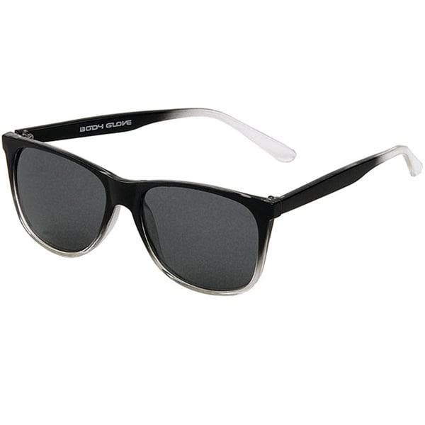 Body Glove 'Windy Hill' Men's Black to Clear Polarized Sunglasses
