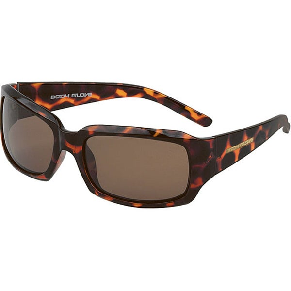 Body Glove 'Coogee Beach' Brown Polarized Sunglasses