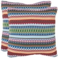 Fantasia Blue 22-inch Decorative Pillows (Set of 2)