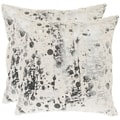 Cosmos 22-inch White Decorative Pillows (Set of 2)