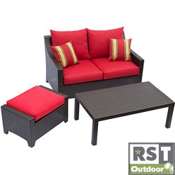 Red Star Traders 'Cantina' 3-piece Outdoor Furniture Set