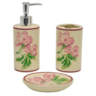 Forever Yours 3-piece Bathroom Accessory Set