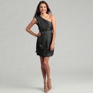BCBG Generation Women's Clove One-shoulder Dress