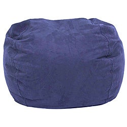 BeanSack Ultra Sky Blue Microfiber Suede Bean Bag Chair