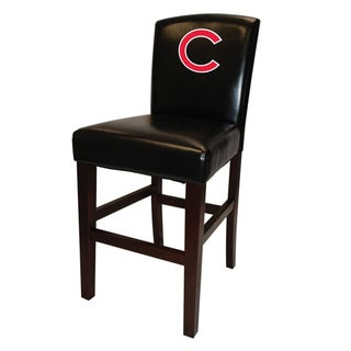 MLB Chicago Cubs Black 24-inch Counter Stool