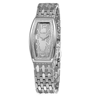 Milleret Women's 'Diva' Stainless Steel Diamonds Watch