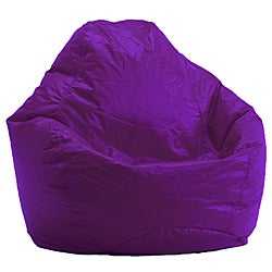 BeanSack Ultra Purple Vinyl Lounge Bean Bag Chair