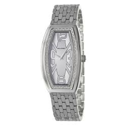 Milleret Women's 'Diva' Stainless-Steel Diamonds Water-Resistant Watch