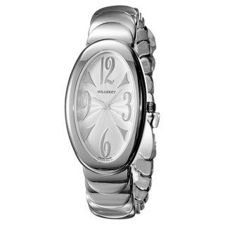 Milleret Women's 'Anaconda' Stainless Steel Quartz Watch