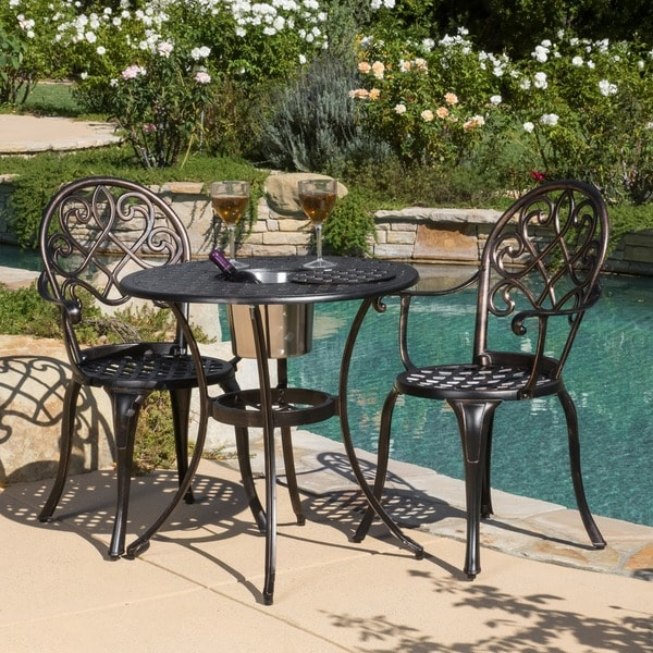 Christopher Knight Home Angeles Cast Aluminum Outdoor