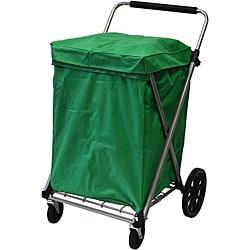 Easy Wheels Green Canvas Cart