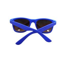 Unisex Blue Plastic Fashion Sunglasses