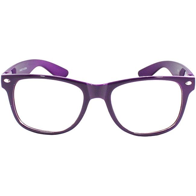 Unisex Purple Fashion Sunglasses