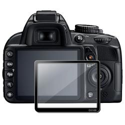 BasAcc LCD Screen Protector Glass for Nikon D3100