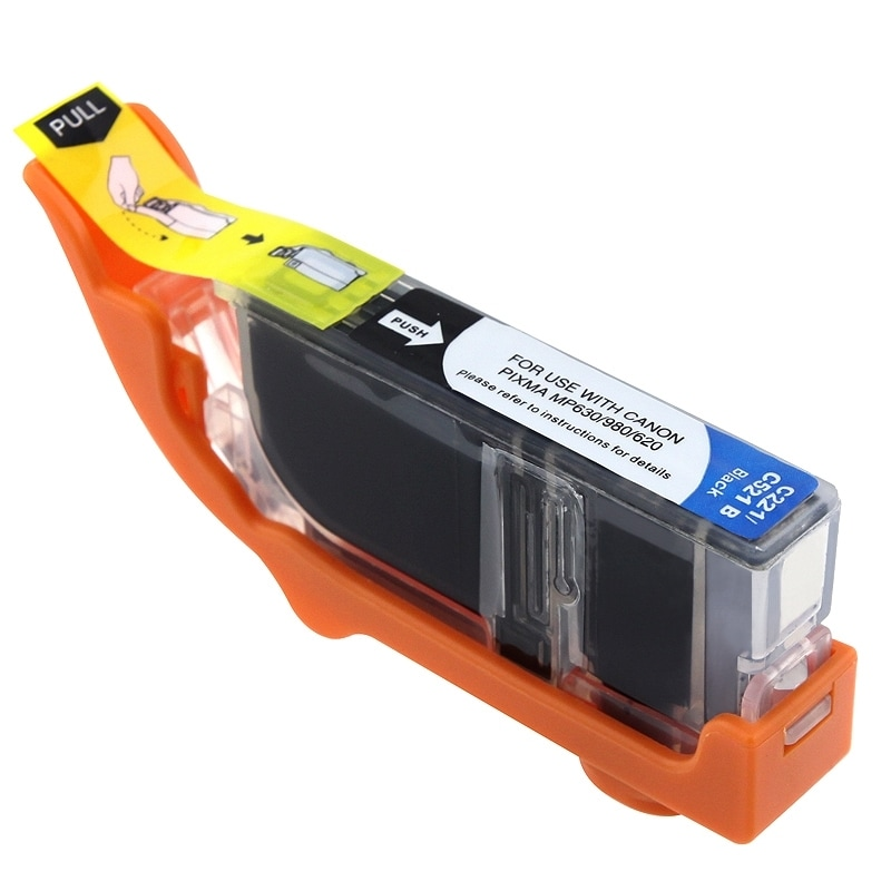 INSTEN Canon Compatible CL-221 Black Ink Cartridge