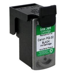 Canon PG-30 Black Ink Cartridge (Remanufactured)