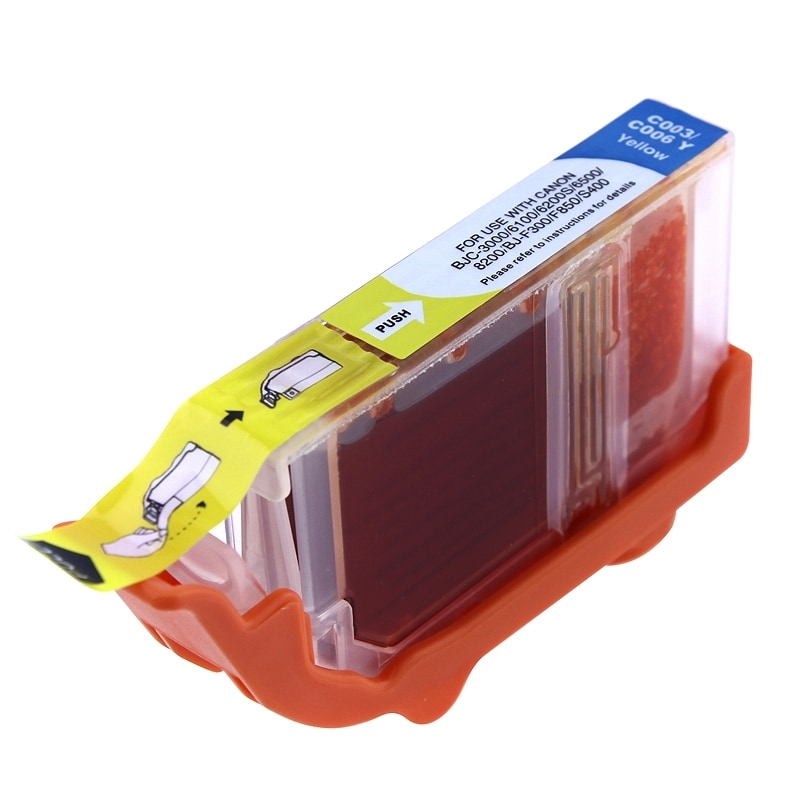 INSTEN Canon Compatible BCI-3e/ BCI-6Y Yellow Ink Cartridge
