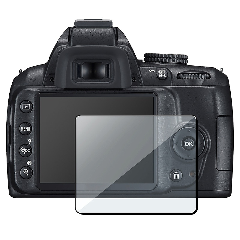 INSTEN Clear Screen Protector for Nikon D3000