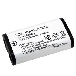 BasAcc Compatible Li-ion Battery for Kodak KLIC-8000