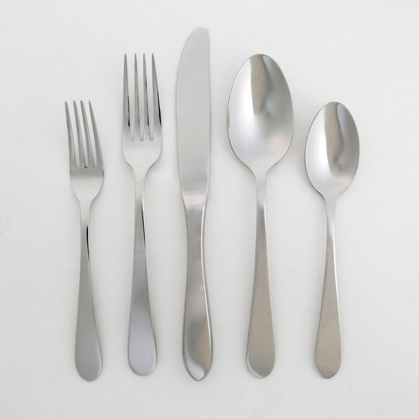 Oster 'Carlinville' 20-piece Stainless Steel Flatware Set