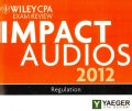Wiley CPA Exam Review 2012 Impact Audios Set (CD-Audio)