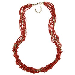 Corally Sunshine Beaded Necklace (India)