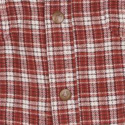 Farmall IH Men's 'Brawny' Red Plaid Flannel Shirt