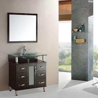 Kokols Modern Bathroom 32-inch Vanity Cabinet Set
