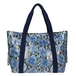 Vintage Reign Ocean Blue Tote Bag