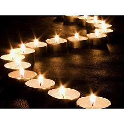 USA White Unscented Tealight Candles (Pack of 500)