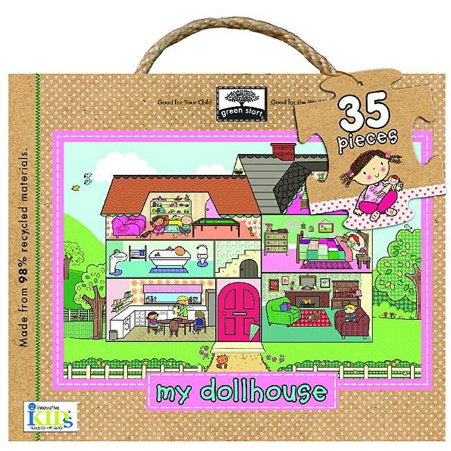 My Dollhouse Giant Floor Puzzle (35 pieces)