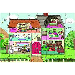 My Dollhouse Giant Floor Puzzle (35 pieces)