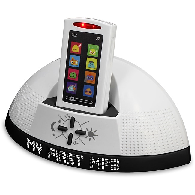 White/Black Children's Smooth-touch 'My First MP3' Docking Set