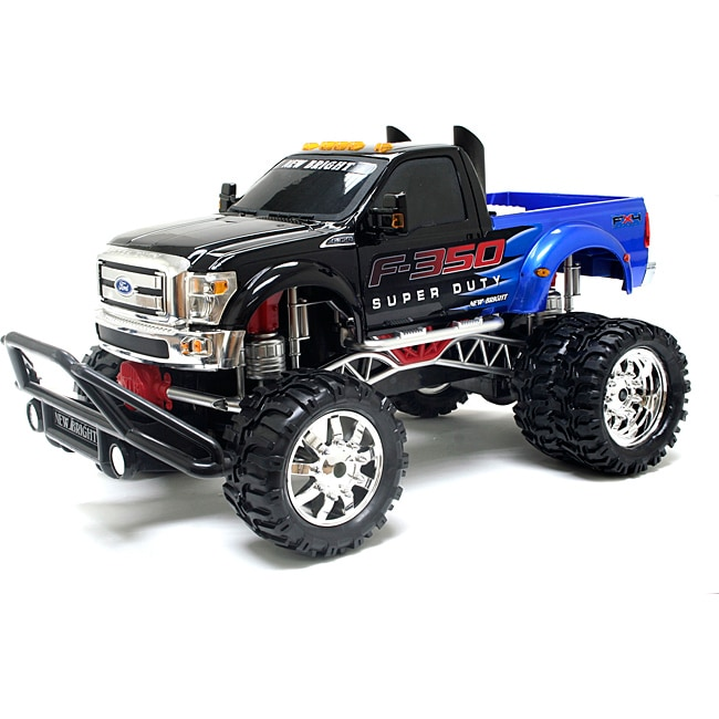 Remote Control 1:10 Showcase Customs Blue F-350 Super Duty Truck