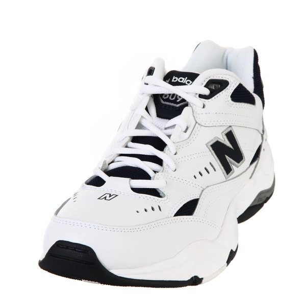 New Balance Men's 609 White Athletic Shoes
