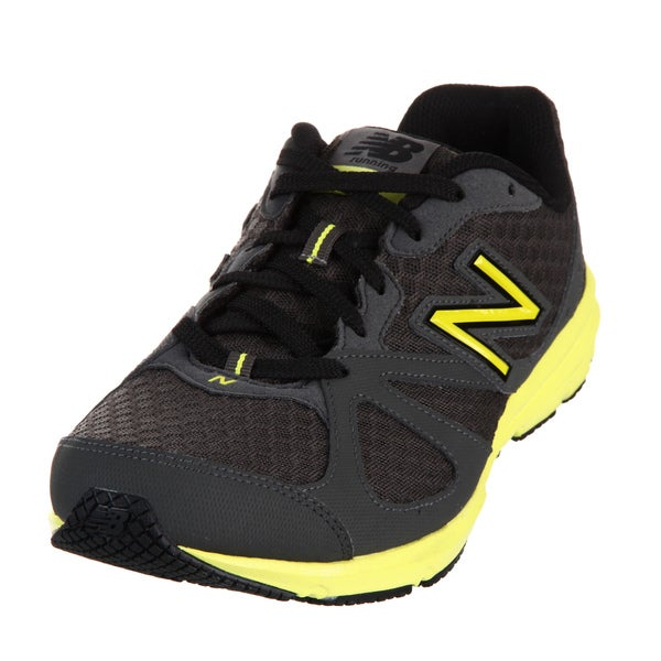 New Balance Men's 630 Grey/ Neon Yellow Athletic Shoes