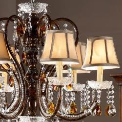 Clarissa Tea Crystal Ceiling Lamp