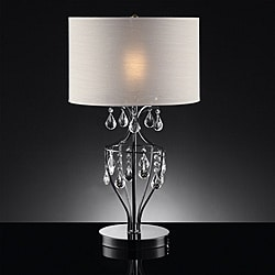 Elena Refined Crystal Table Lamp