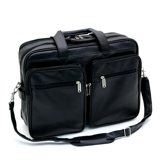 Overland Travelware Durahide Twin Pocket Business Case