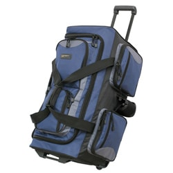 Overland Travelware 29-inch Rolling Upright Duffel Bag