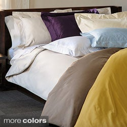 1000 Thread Count Wrinkle Resistant 3-piece Duvet Cover Set