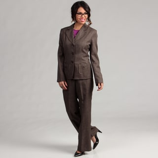 Danillo Women's 3-button Jacket Pant Suit