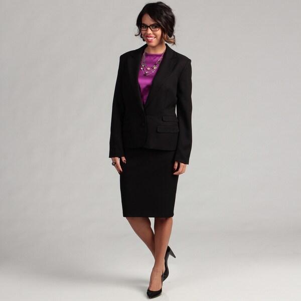Danillo Women's Double Pocket Skirt Suit