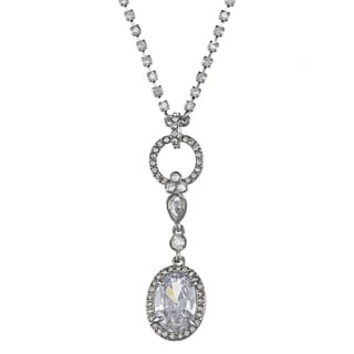 Carolee Hopeless Romantic Crystal 16-inch Pendant Necklace