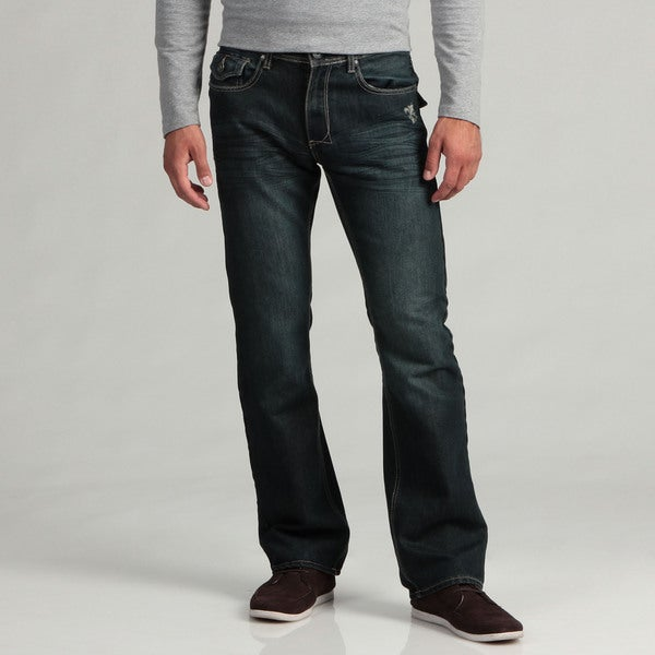 Hollywood The Jean People Men's Dark Denim Jeans