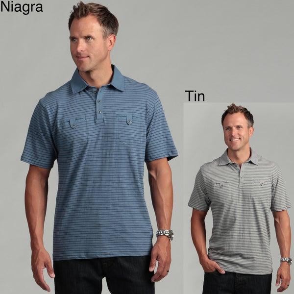 Modern Culture Men's Striped Polo Shirt