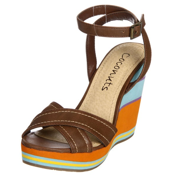 Coconuts Women's 'Cirque' Wedges FINAL SALE