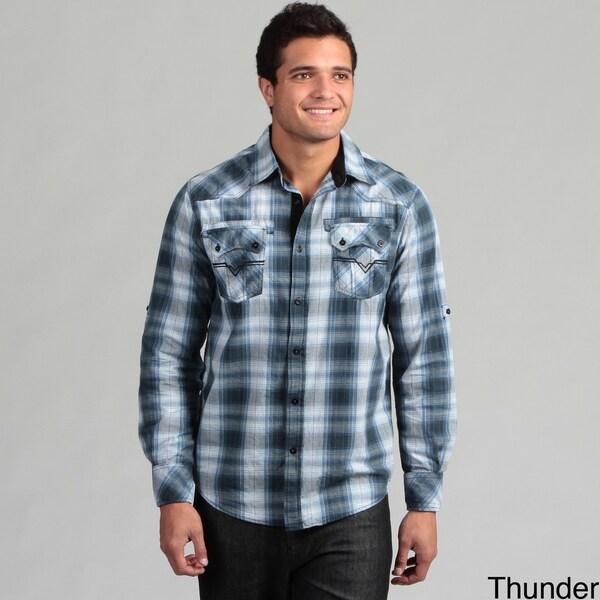 Modern Culture Men's Plaid Shirt