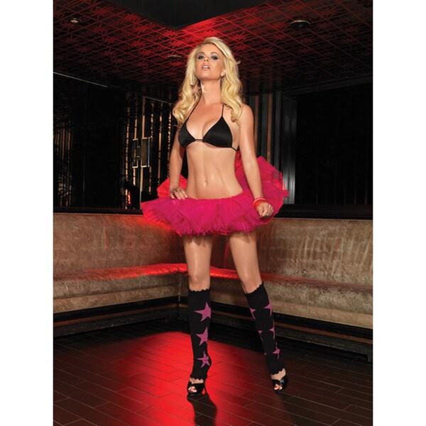 Leg Avenue Women's 'Lurex' Star Leg Warmers